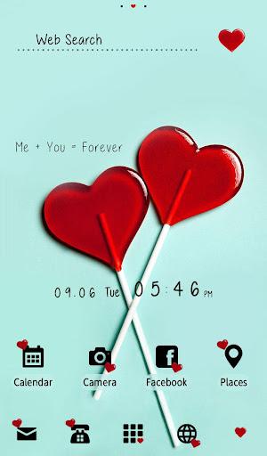 Love Theme Two Hearts 1.0.0 Windows u7528 1