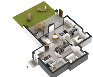 appartement à Porticcio (2A)