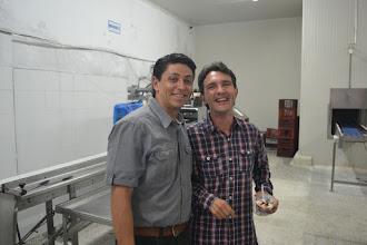 Photo: Hernán Osorio y Paulo López energizados