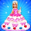 Wedding Doll Cake Decorating icon