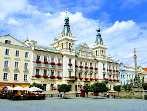 Photo: Пардубице. Главная площадь города - площадь Пернштейна