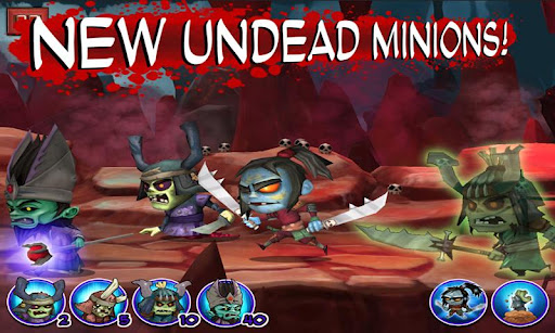 SAMURAI vs ZOMBIES DEFENSE screenshot 4