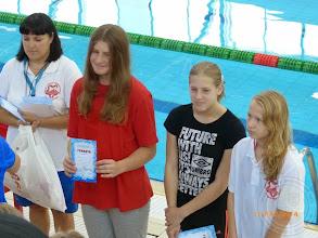 Photo: Międzynarodowe Zawody Pływackie w Brześciu - IV miejsce w wieloboju G.Malewicka IIc