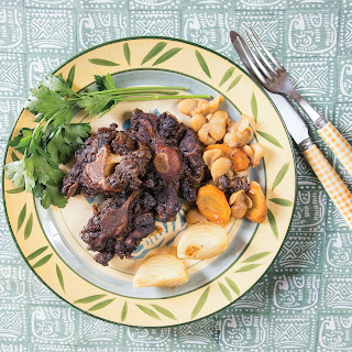 Braised Oxtail with Butter Beans.