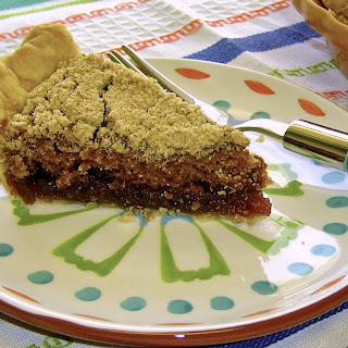 """Here's to you, Harold Jamieson"" Shoo Fly Pie"