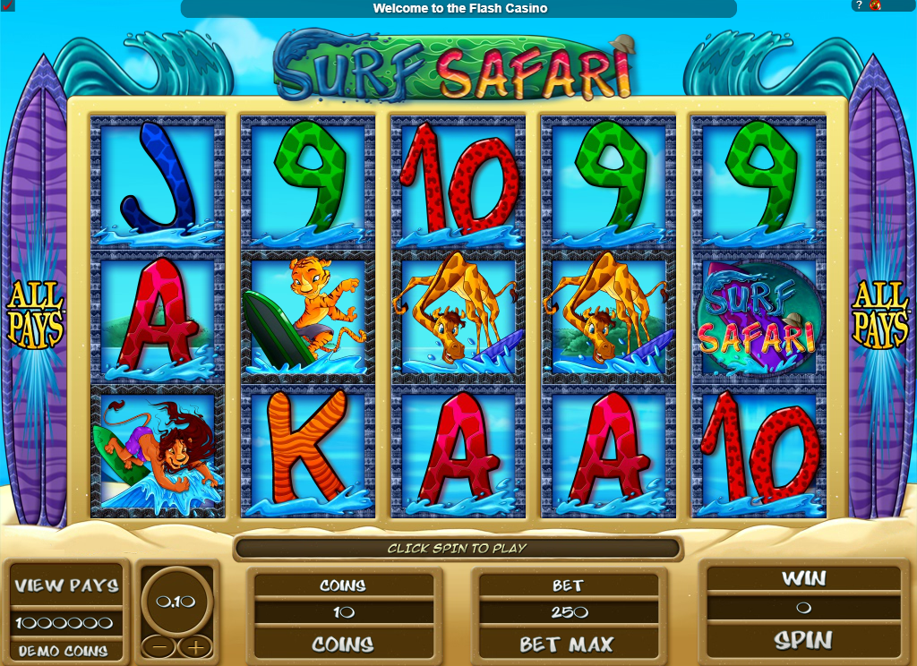Surf Safari Slots Game Review