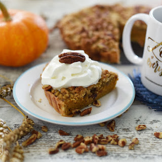 Pumpkin Tart with Nutty Streusel