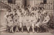 Photo: 1930 - eleve in costume traditionale din albumul familiei  http://ana-maria-catalina.blogspot.ro/2017/12/turda-album-memories.html