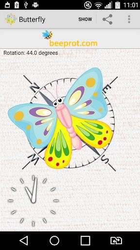 蝴蝶指南針