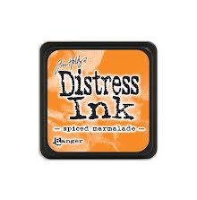 Tim Holtz Distress Mini Ink Pad - Spiced Marmalade