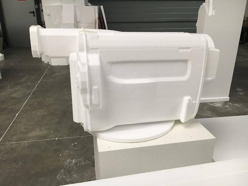 Dallas 3D blowup handycam - grote camera