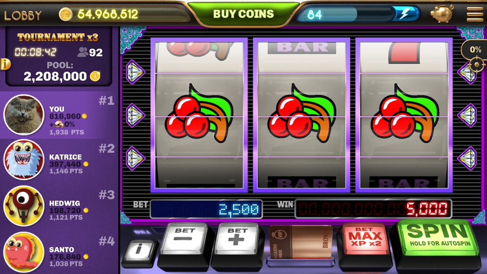 slot machine poker free games
