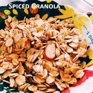 Spiced Gluten Free Granola.