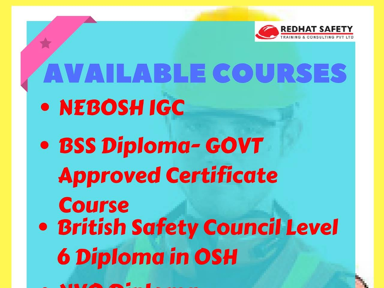 SPECIAL OFFER FOR ALL COURSES