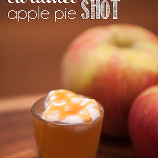 Caramel Apple Pie Shot