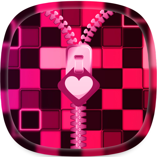 Pink Zipper Lock Screen Android APK Download Free By SOLITUDE