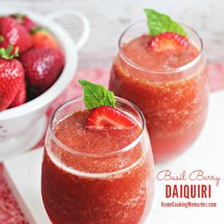 Basil Berry Daiquiri