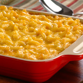 Cheesy Macaroni and Cheese.