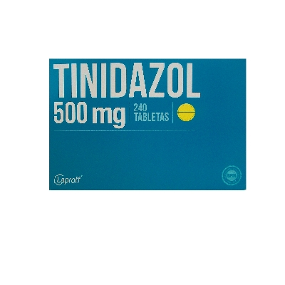 tinidazol 500mg blister 8tabletas laproff