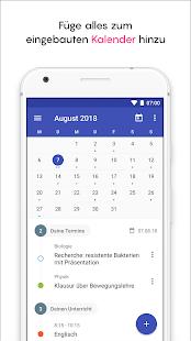 Schülerkalender - Stundenplan & Schulplaner Screenshot