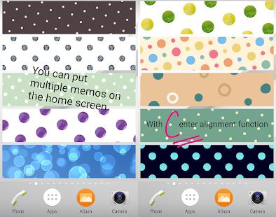 Sticky Memo Notepad *Dots* 4 - náhled