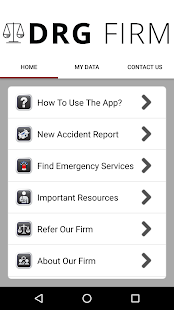 DRG Law Injury Help App- screenshot thumbnail