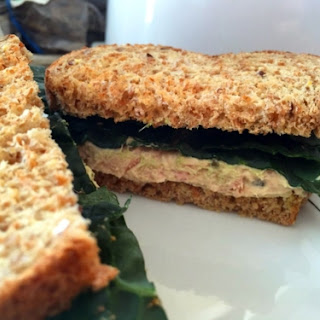 Tuna Kale Sandwich