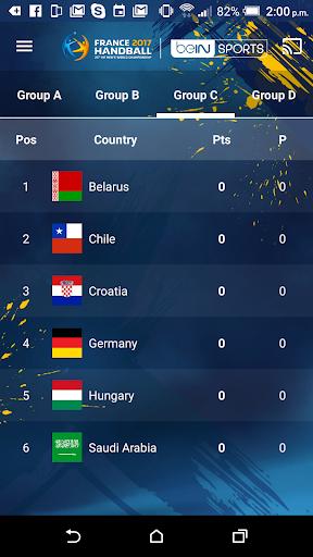 France 2017 Handball WC Live screenshot 5