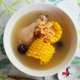 Chinese Chicken Sweet Corn Soup