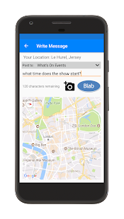 BLABR Free Messenger App - chat with people nearby- screenshot thumbnail