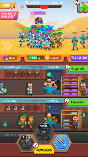Gear for Heroes: Medieval Idle Craft 1.0.5 screenshots 23