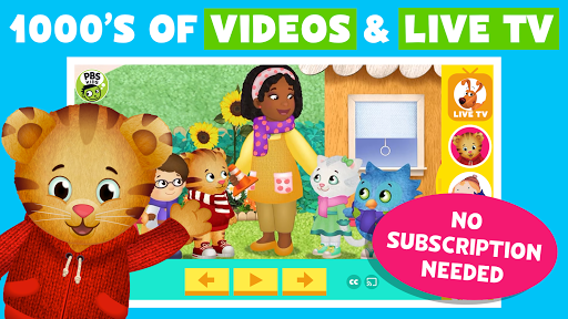 PBS KIDS Video Screenshot