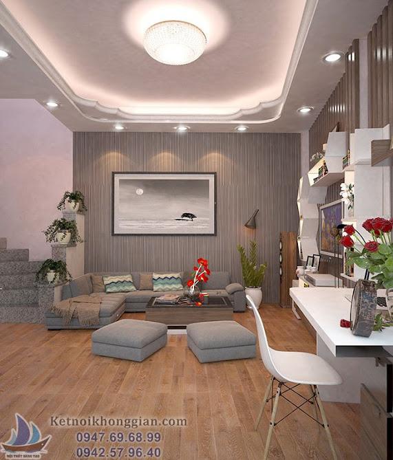 Thiết kế phòng khách chất lượng cao tại Hà Nội