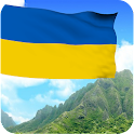 3D Ukraine Flag Wallpaper icon
