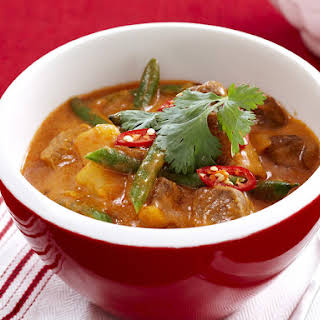 Tomato Beef Curry.
