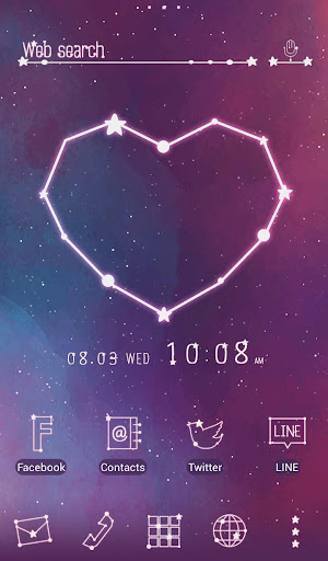 Heart Constellation Wallpaper 1.0.0 Windows u7528 1