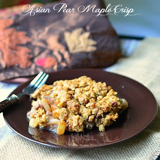 Asian Pear Maple Crisp
