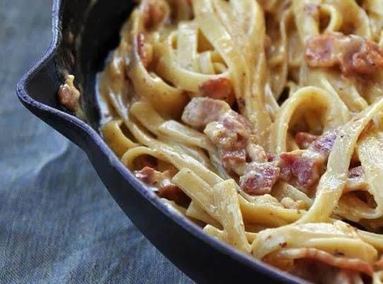 Creamy Dreamy Bacon Carbonara