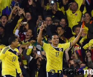 La Colombie accrochée malgré un but de Bacca