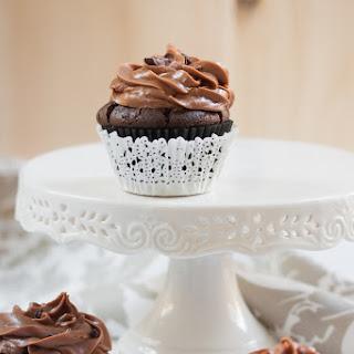 Triple Chocolate Cupcakes.