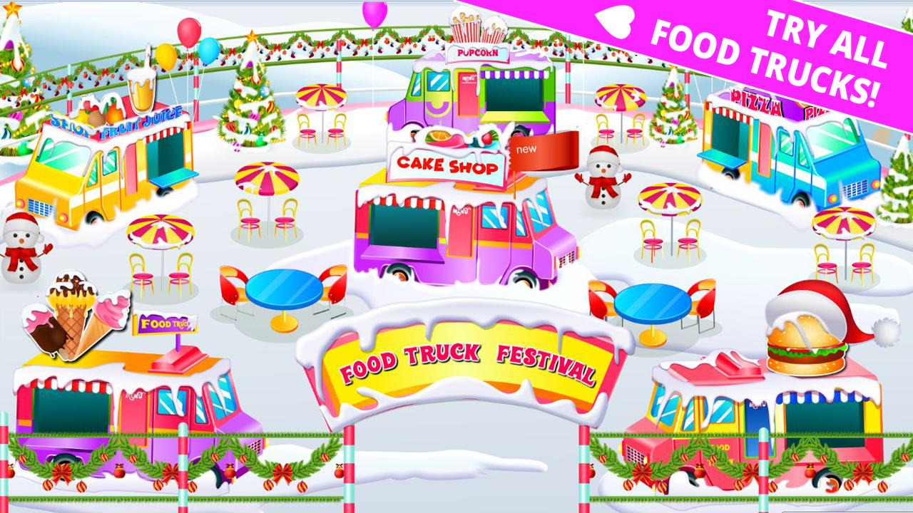 Kids Food Truck Stand