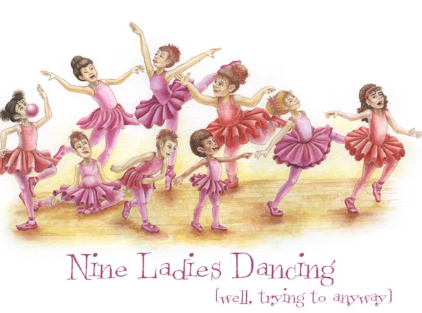 "Nine Ladies Dancing  = the nine fruits of the Holy Spirit  ""But the fruit..."
