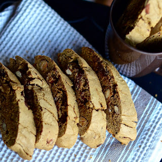 Espresso Almond Biscotti