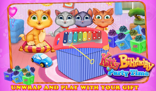 Kitty Birthday Party Time v1.0.3