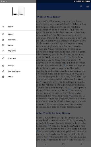 Dagaara New Testament screenshot 6