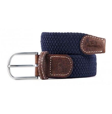 BillyBelt Braid belt navy blue