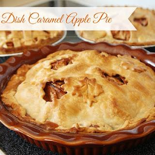 Deep Dish Caramel Apple Pie Recipes