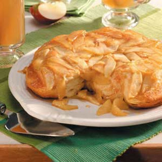 Apple-Topped Biscuits.