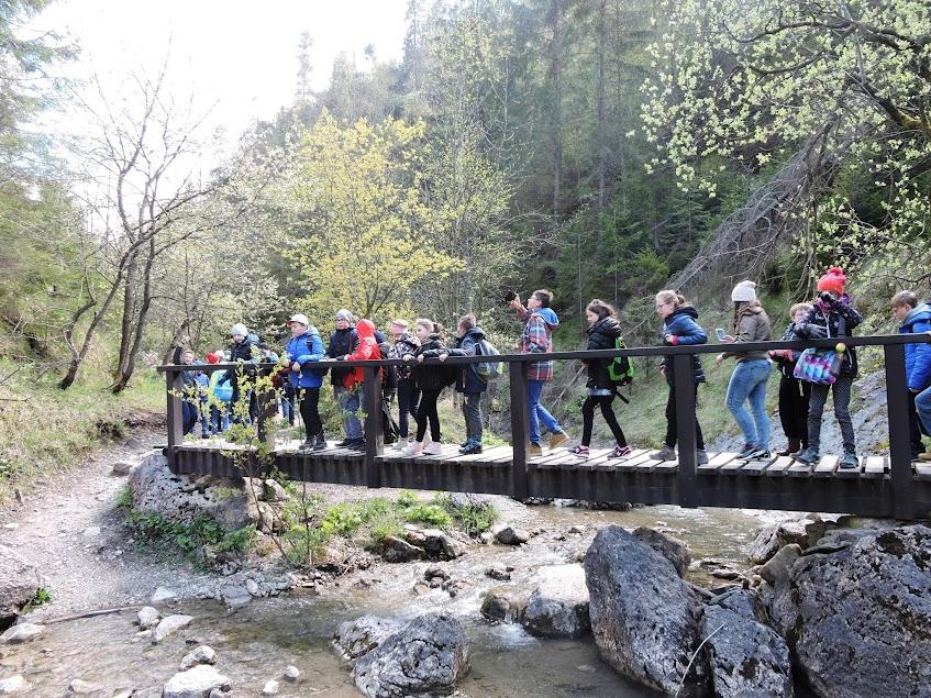 Wycieczka klas piątych do Pienińskiego Parku Narodowego