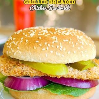 Grilled Breaded Chicken Sandwich Recipe